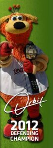 Orbit Mascot Champion
